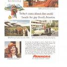 Vintage Ad Panagra Airlines 1958 Pan American-Grace Airways South America