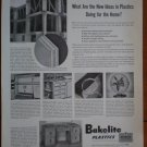 Vintage Ad Bakelite Plastics 1948 New Ideas For Home