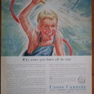 Vintage Ad Union Carbide Carbon Corporation 1948 Water Gets Better