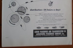 Vintage Ad Lehigh Warehouse Transportation 1948 Lackawanna NJ