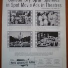 Vintage Ad Canada Dry Spur Sparkles 1948 Spot Movie Ads Theatres