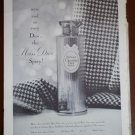 Vintage Ad Miss Dior Spray 1960s Christian Dior CD Perfume Parfums
