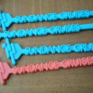 Vintage Swizzle Sticks Sundance Cruises Lot 4 Plastic