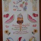 Susan Branch Stickers July 12723 Summer Nights Art Impressions