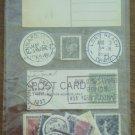 Nostalgiques Stickers Rebecca Sower Postal Pieces Sticko SP RSN 05