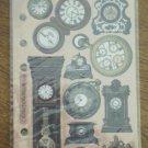 Nostalgiques Stickers Time Pieces Stickopotamus SP CL 06 Clock Watch