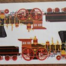 Mrs Grossman stickers Steam Engines Train 2005 Henry White