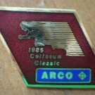 1985 Coliseum Classic Pin Arco Sponsor Band Contest Rhombus