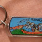 Mount Rushmore Key Ring Vintage Shrine of Democracy Plastic