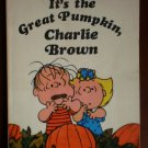 It's the Great Pumpkin Charlie Brown Charles Schulz Book c1967 later print Scholastic