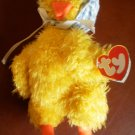 Ty Bonnie Beanie Baby Birds of a Feather Attic Collection Plush Toy 1993 Duck Chick