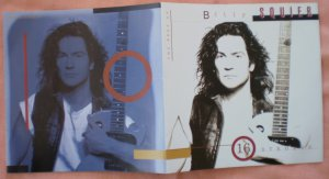 Insert Cover for Billy Squier 16 Strokes Best of No CD