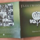 Insert Cover for Fleetwood Mac Greatest Hits No CD