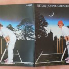 Insert Cover for Elton John Greatest Hits Vol II No CD