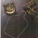 Vintage Ad Seagram Crown Royal The Butler Did It 1978