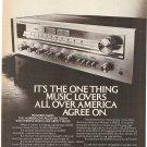 Vintage Ad Pioneer SX650 Receiver 1978