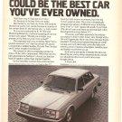 Vintage Ad Volvo 264 Sedan 1978