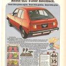 Vintage Ad Mazda GLC 5-Door Hatchback 1978