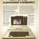 Vintage Ad Apple II How To Buy Personal Computer PC 1978