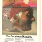 Vintage Ad Arco Atlantic Richfield Company Cousteau Odyssey 1978