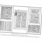 Paleography Manuscript Writings Ancient People Plate Print 1936 Book