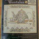 Teresa Wentzler Cross Stitch Hardanger Kit Tea Scene 113952