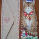 Gordon Fraser Christmas Card Harbottle & Co Peter Cross Cat Sister