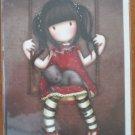Santoro Note Card Suzanne Woolcott Gorjuss Swing Cat