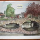 Sue Podbery Blank Note Card Bourton-on-the-Water Cotswold Villages