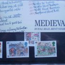 1986 Medieval Life GB Royal Mail Mint Stamps 172