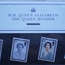 HM Queen Elizabeth Queen Mother In Memoriam GB Royal Mail Mint Stamps M08 2002