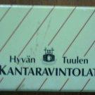 Vintage Matchbook Hyvan Tuulen Kantaravintolat Helsinki Finland Box Matches