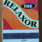 Vintage Matchbook The Relaxor King Edward Cigar Matches