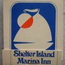 Vintage Matchbook Shelter Island Marina Inn Doc Masters San Diego CA Matches