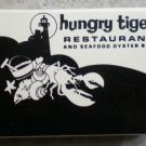 Vintage Matchbook Hungry Tiger Restaurant California Arizona Matches Matchbox