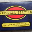 Vintage Matchbook Victoria Station Restaurant San Francisco Matches Matchbox