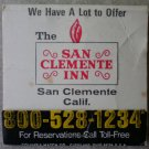 Vintage Matchbook Best Western San Clemente Inn California Matches