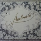 Vintage Matchbook Ambrosia Newport Beach California Matches Matchbox