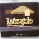 Vintage Matchbook Lakeside Restaurant Newport Beach California Matches