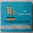 Vintage Matchbook Kona Inn Shelter Island San Diego California Matches