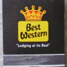 Vintage Matchbook Best Western Chilton Inn Deming New Mexico Matches