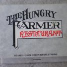 Vintage Matchbook Hungry Farmer Restaurant Colorado Matches