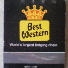 Vintage Matchbook Best Western Tom Penny Inn El Paso Texas Matches