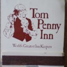 Vintage Matchbook Tom Penny Inn Fort Worth Texas Matches