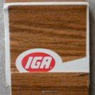 Vintage Matchbook IGA Matches