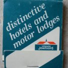 Vintage Matchbook Howard Johnsons Hotel Motor Lodges Matches