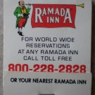 Vintage Matchbook Ramada Inn Matches