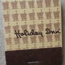 Vintage Matchbook Holiday Inn Tan Brown Matches