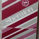Vintage Matchbook Sheraton Hotel Maroon Matches