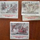 Vintage Matchbook American Revolution Bicentennial Lot 3 1976 Matches